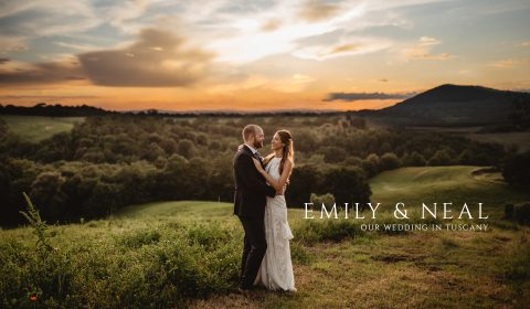 Emily and Neal Wedding in Tuscany