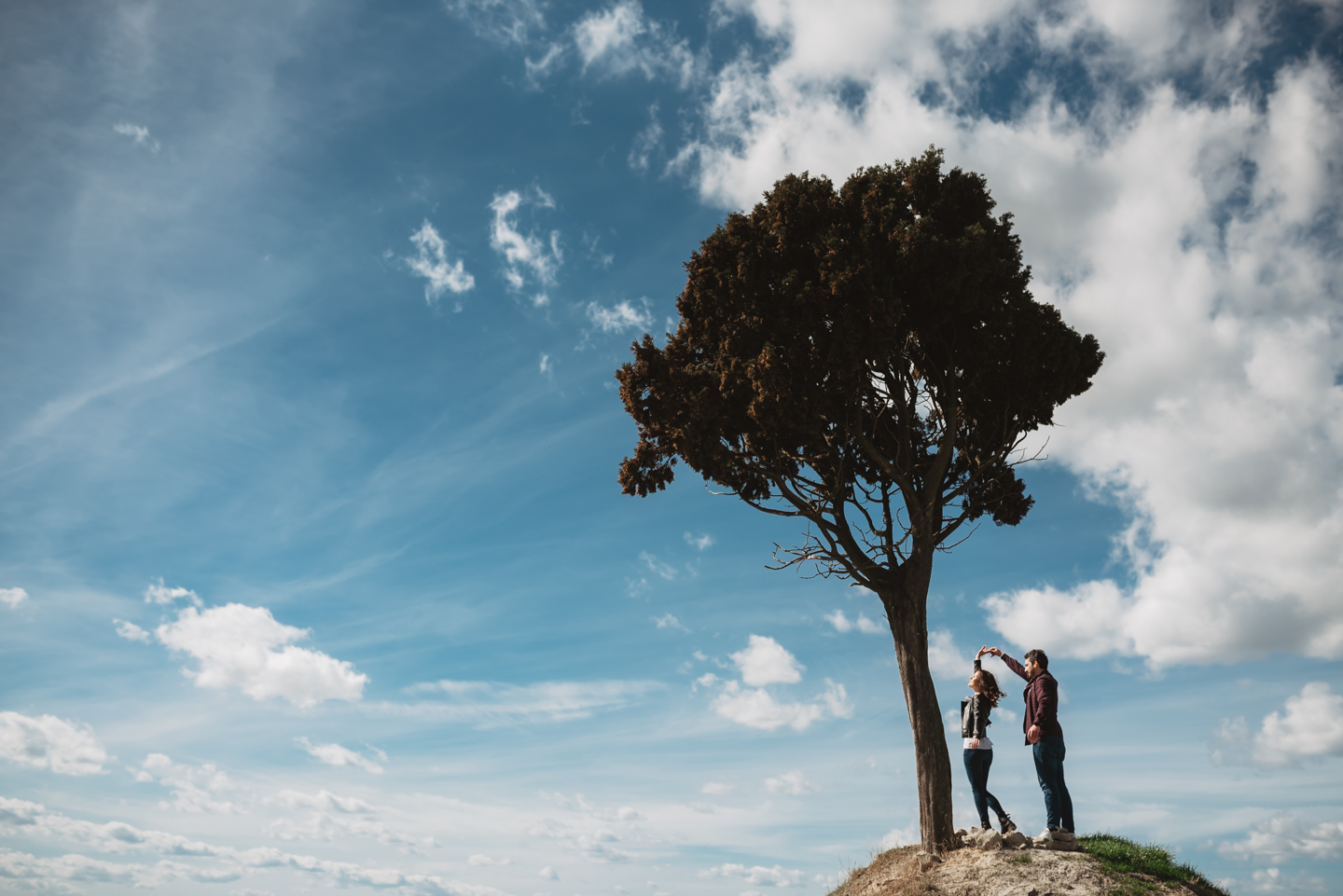 Engagement Photography Crete Senesi Tuscany