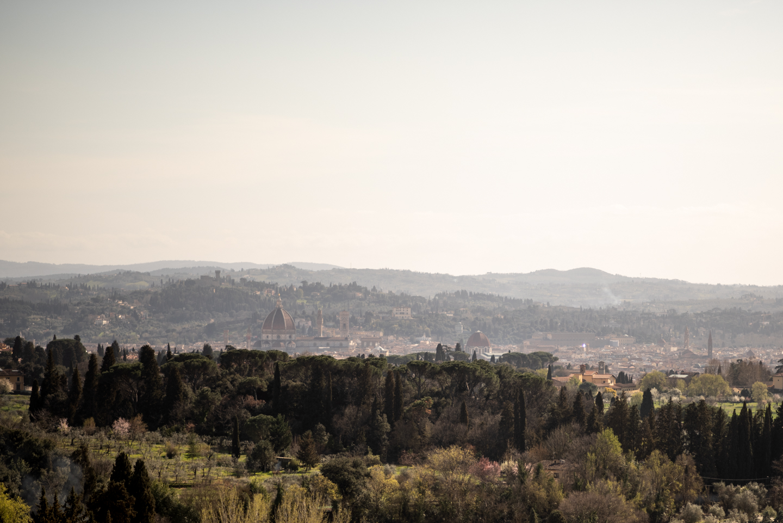 Landascape of Florence From Villa Le Fontanelle