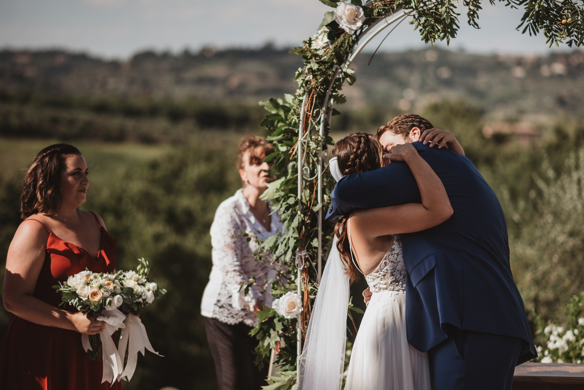 American Wedding in Italy Villa Scopetello Tuscany