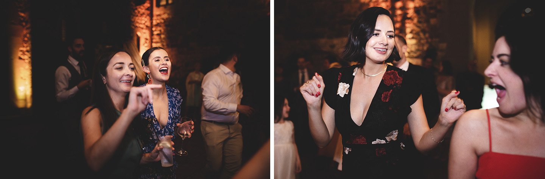 Bridal Party at Castello il Palagio