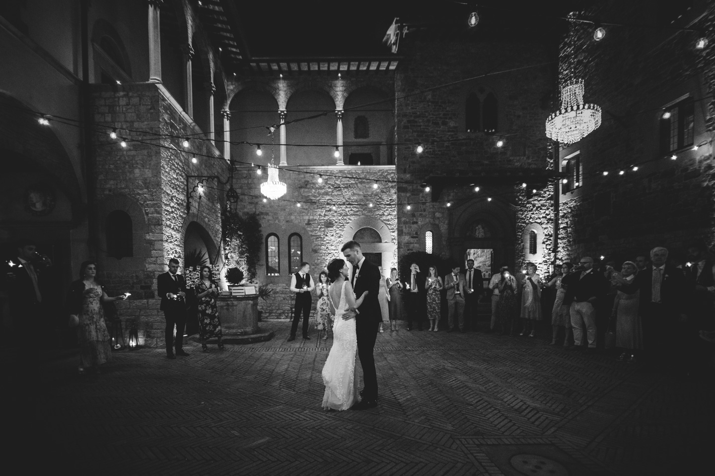 First Dance at Castello il Palagio