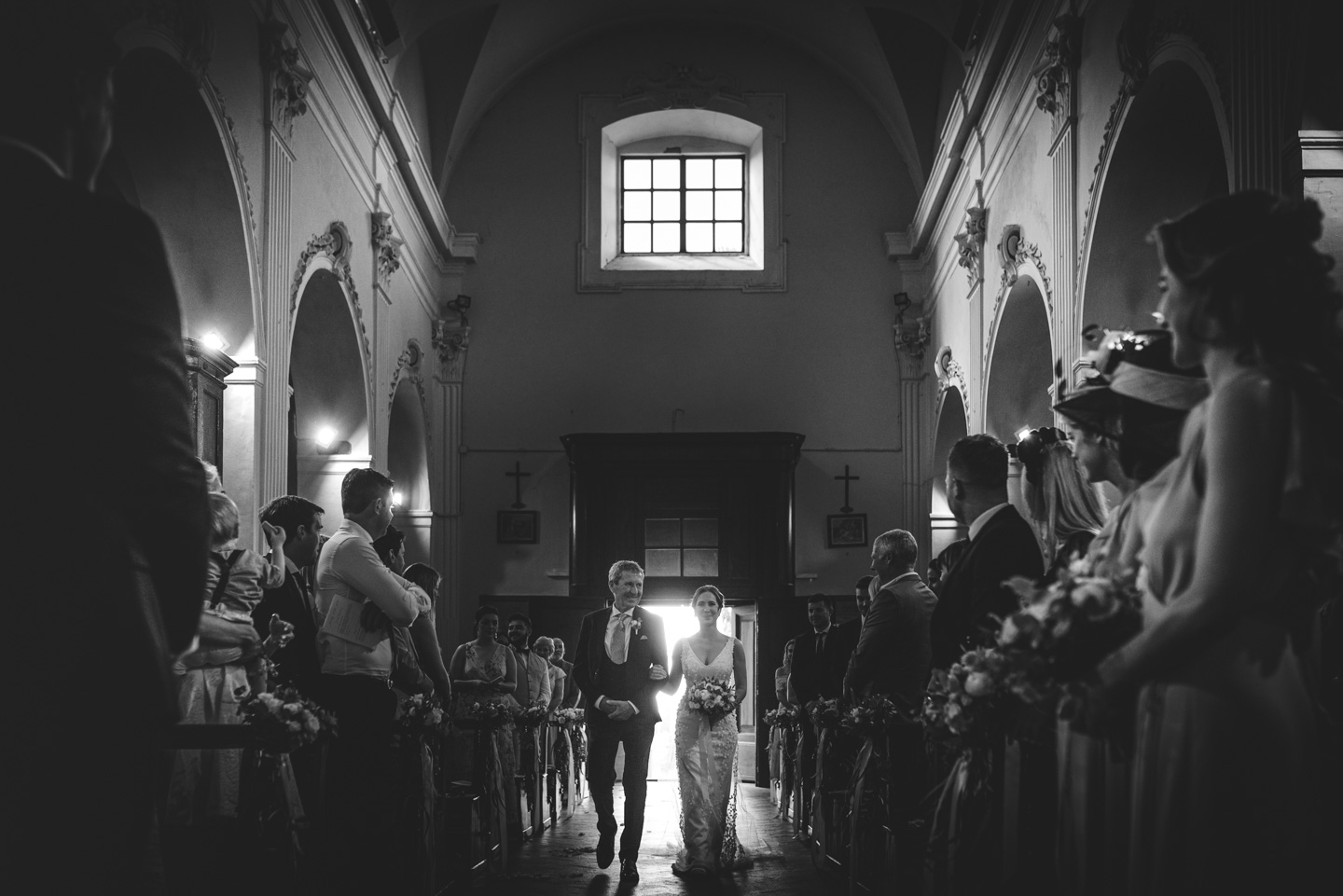 The Bride is Coming on Wedding in Castello Il Palagio