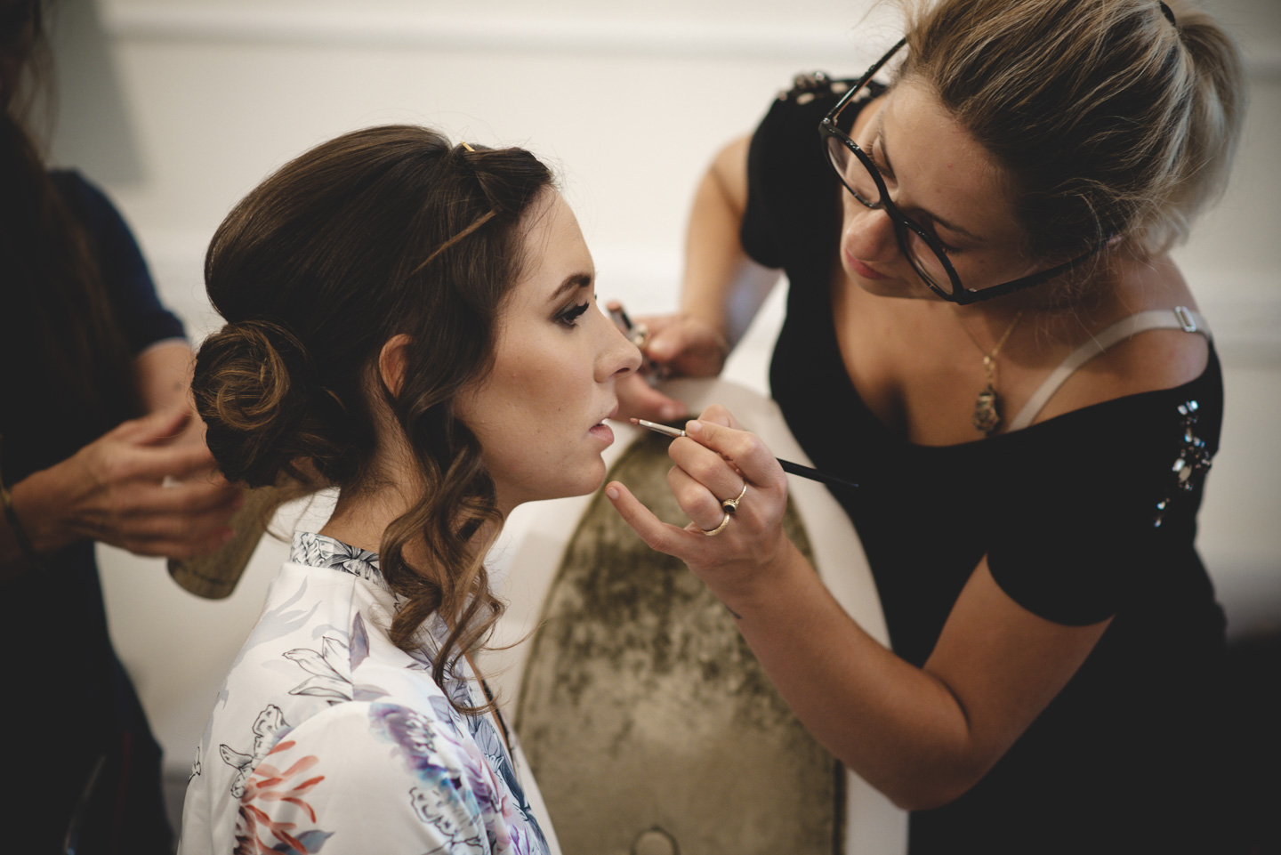 Luxury Wedding in Florence Getting REady