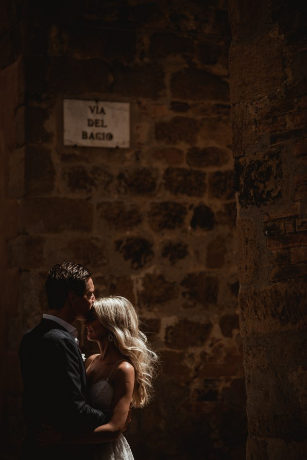 Intimate Wedding in Pienza
