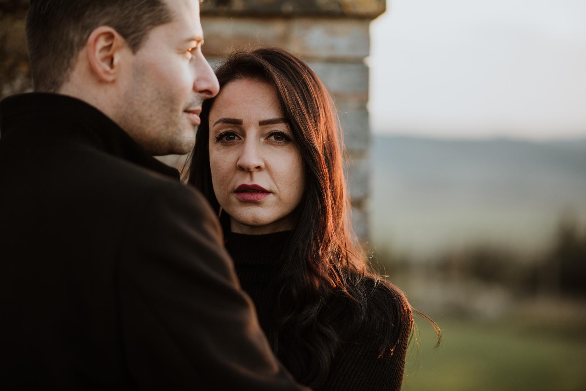 Engagement Photographer Montalcino