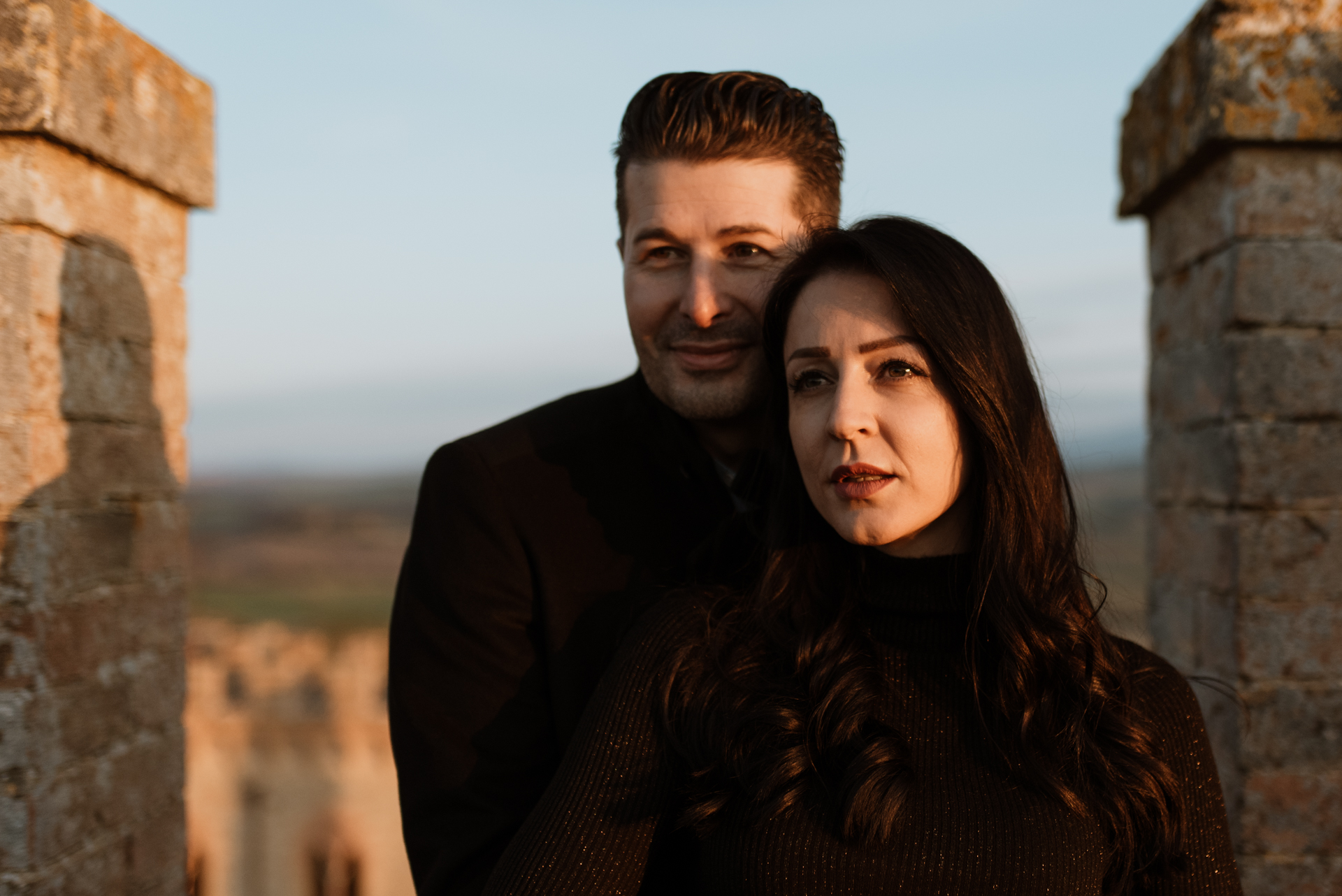 Engagement Photography Montalcino