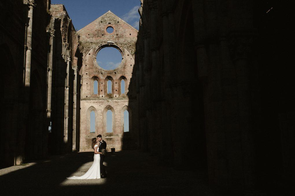 Wedding at San Galgano Abbey